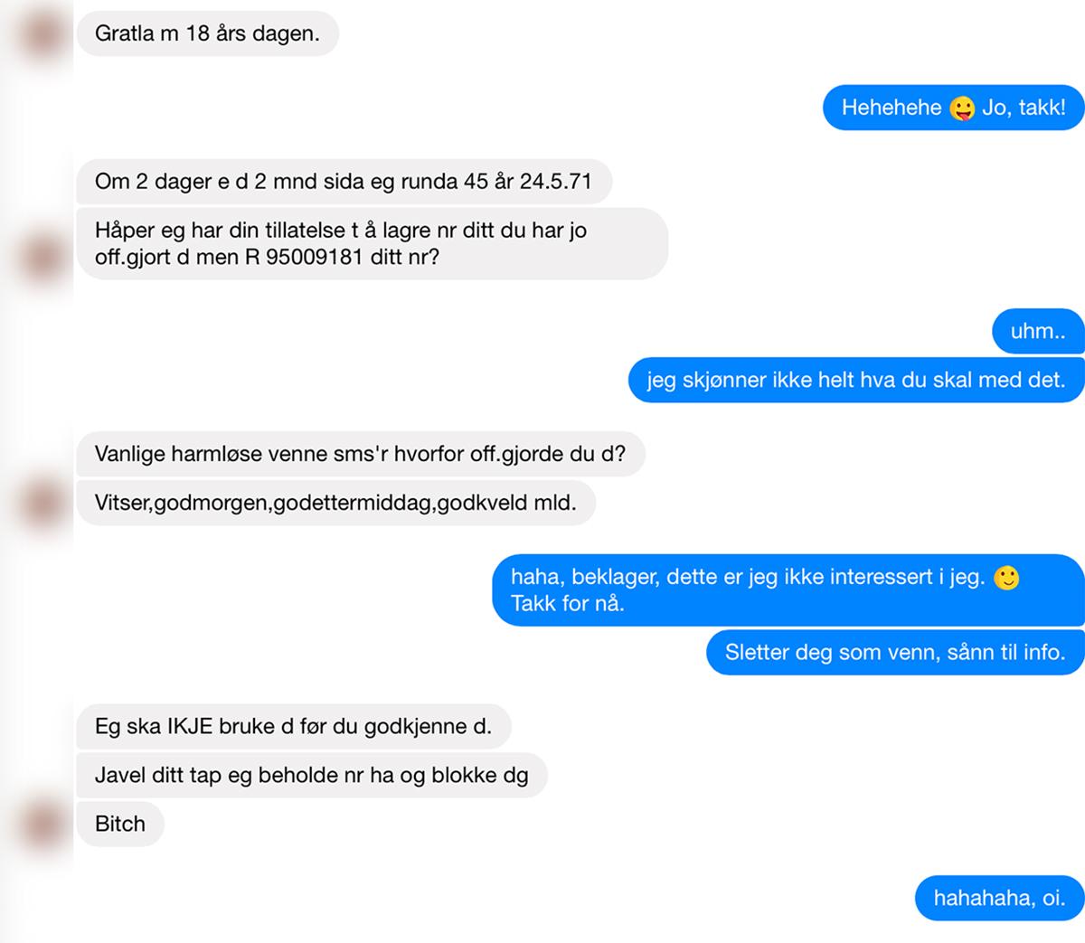 chat med fremmede Gjøvik